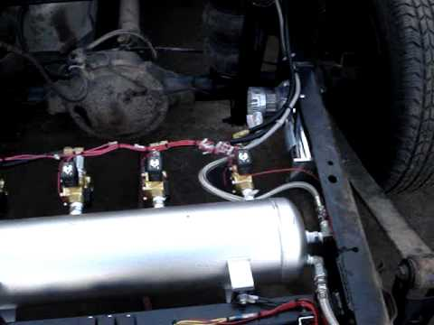 96 Gmc Truck Air Bag Set Up Mpg Youtube