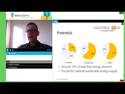 Energy solutions to the industry 2016 Webinar 1