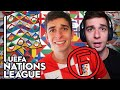 REACTING to My UEFA Nations League Prediction