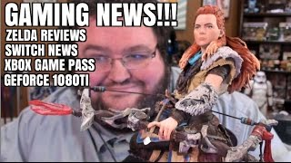 XBOX GAME PASS, ZELDA REVIEWS, SWITCH NEWS, GEFORCE 1080TI, AND
