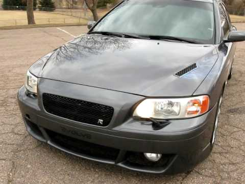 2006 EVOLVE Volvo S60 R AWD 6-Speed Over 300HP!! S4412 - YouTube