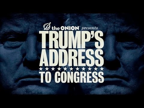 Watch a full replay of The Onion's live coverage of President Trump's congressional address.