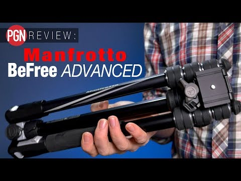 Manfrotto BeFree Advanced Travel Tripod Review - one of the best travel tripods