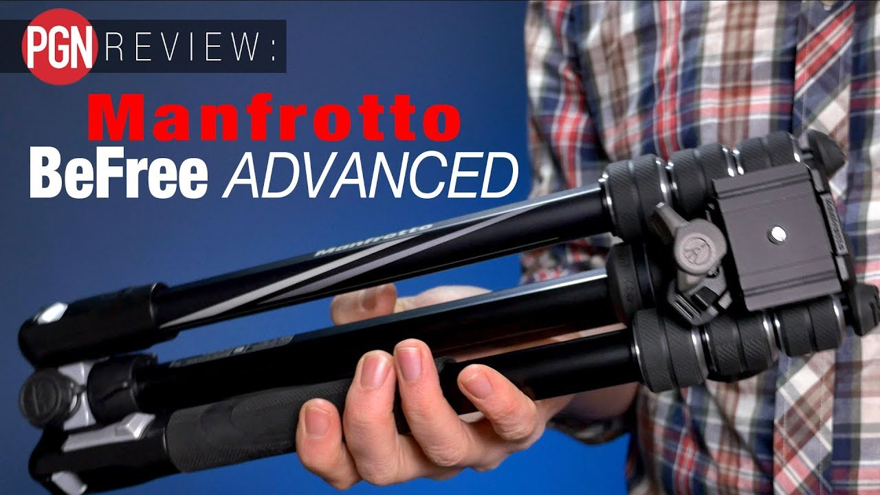 Manfrotto Befree Advanced Travel Tripod Review One Of The Best Vanguard Veo 2 235ab Aluminum With Ball Head Red Tripods