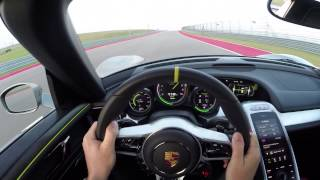 Porsche 918 Spyder Hot Lap with Patrick Long