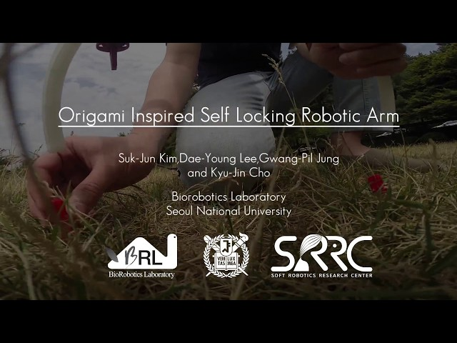 Origami-Inspired Foldable Robot Arm Developed for Drones | Drone Below