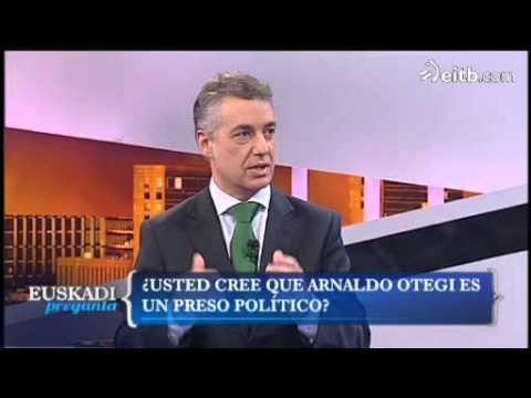 Urkullu: 'Arnaldo Otegi no debería haber sido preso'