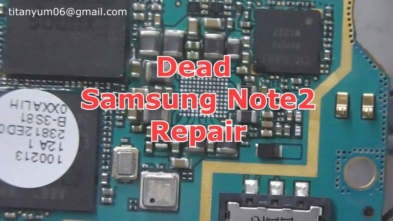 Samsung gt n7105 dead