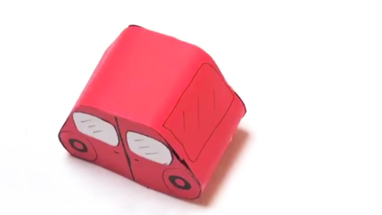 Fabriquer une voiture en carton youtube - Fabriquer une cloche en carton ...
