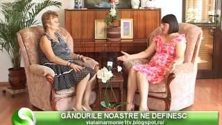 VIATA IN ARMONIE - NICULINA GHEORGHITA - GANDURILE NOASTRE NE DEFINESC_20 08 2016