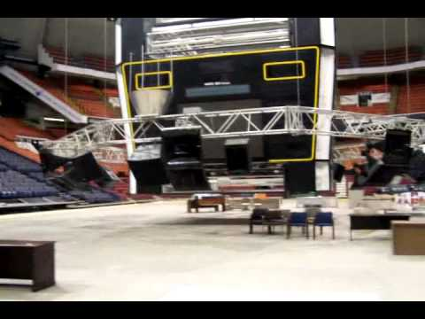 Inside the Closed Pittsburgh Civic (Mellon) Arena