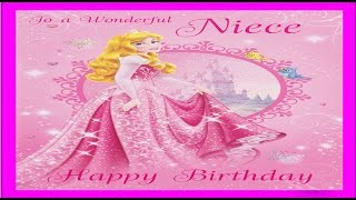 Sweet and cute Birthday wish to Niece, Birthday video greetings and wishes with music