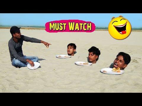 Must Watch New Funny Comedy Videos 2019 😂 😂 - Episode 27, Desi Videos  - Bindas Boys