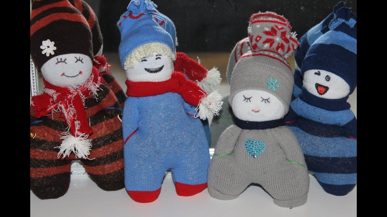 Diy Puppen Aus Sockenleicht Und Schnell Zu Machen Dolls Made Of Socks Easy And Fast To Make