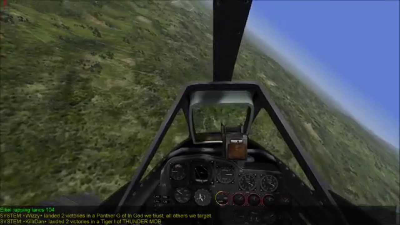 Me 262 vs Spitfire 5 - Aces High
