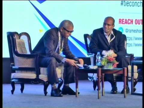 Mr. Ramesh Srinivasan and Mr. Ganesh Chella at TiECON Chennai 2016