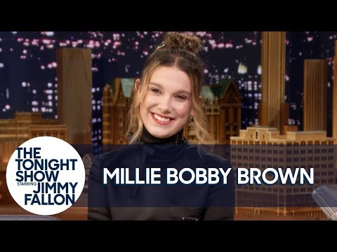 Millie Bobby Brown Shares A Brilliant Amy Winehouse Impersonation
