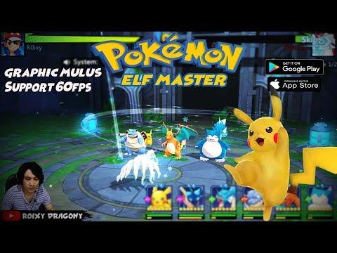 Versi English - Game Pokemon Terbaik Di Android ??? Pokemon Elf MASTER (ENG) Gameplay Android
