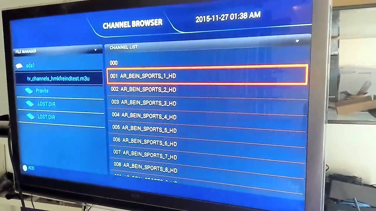 how to add your own CHANNELS LINK( M3U format Streaming links) by SIMPLE  IPTV