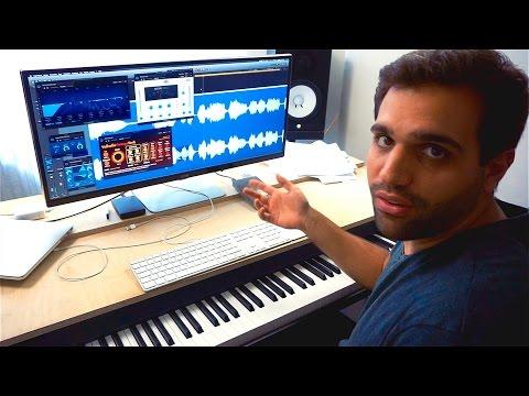 VOCAL MIXING TUTORIAL (only Logic Pro X PlugIns: EQ, De-Esser, Compressor)