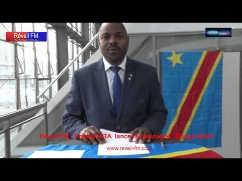 Réveil-FM : Freddy KITA lance la campagne ' CONGO désir ' à l'hôtel Hilton de Paris la Défense ...