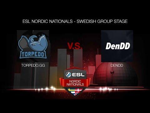 Torpedo.gg vs. DenDD - (ESL NORDIC NATIONALS - SWEDISH GROUP STAGE)