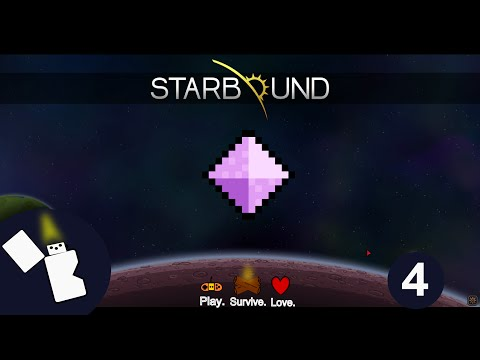Starbound 1.0 Survival - How to repair the ship - Episode 4