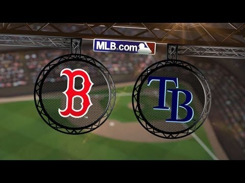 5/25/14: Rays sweep Red Sox on Rodriguez's late homer