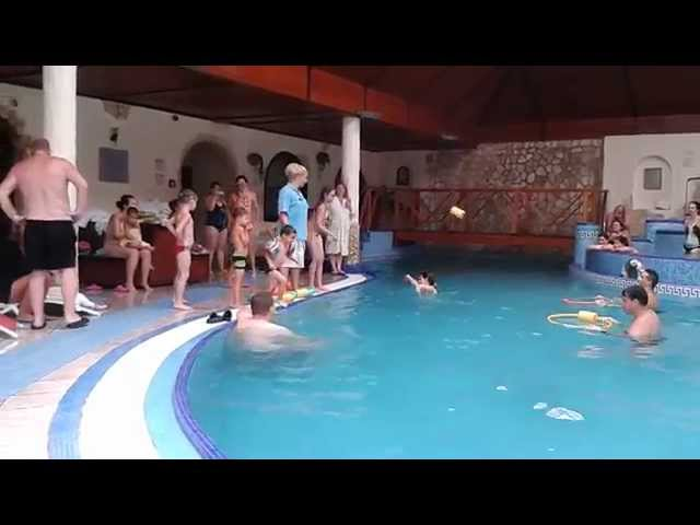 Római gyermek vízi játékok a Kék Duna Wellness Hotelben