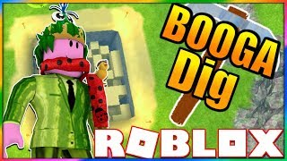 MY NEW FAVORITE MINING SIMULATOR | Roblox: Big Booga Dig | BOOGA BOOGA'S NEW GAME