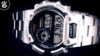 Review Đồng Hồ Casio AE-1400WHD-1AVDF mặt số tròn điện tử chức năng giờ thế giới