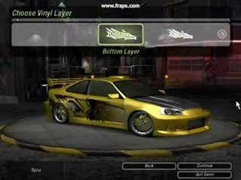 need for speed underground 2 honda civic tuning youtube. Black Bedroom Furniture Sets. Home Design Ideas