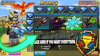 HOW to Get FREE all The Guns In pixel gun 3d + Every Pet(RAREST WEAPONS IN THE GAME)
