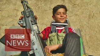 Islamic State 'are all monsters' says 14 year old Yazidi boy