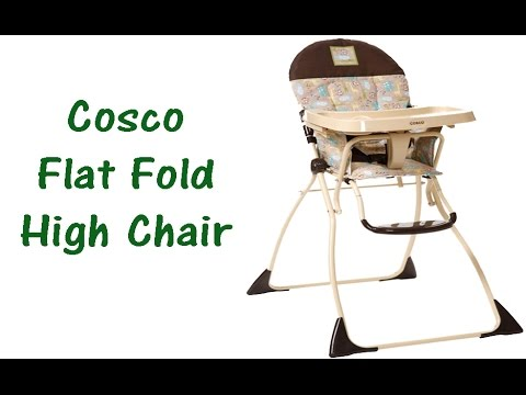 cosco high chair cover mickey mouse and a half ethan allen flat fold review slim walmart target newdayvideos highchair