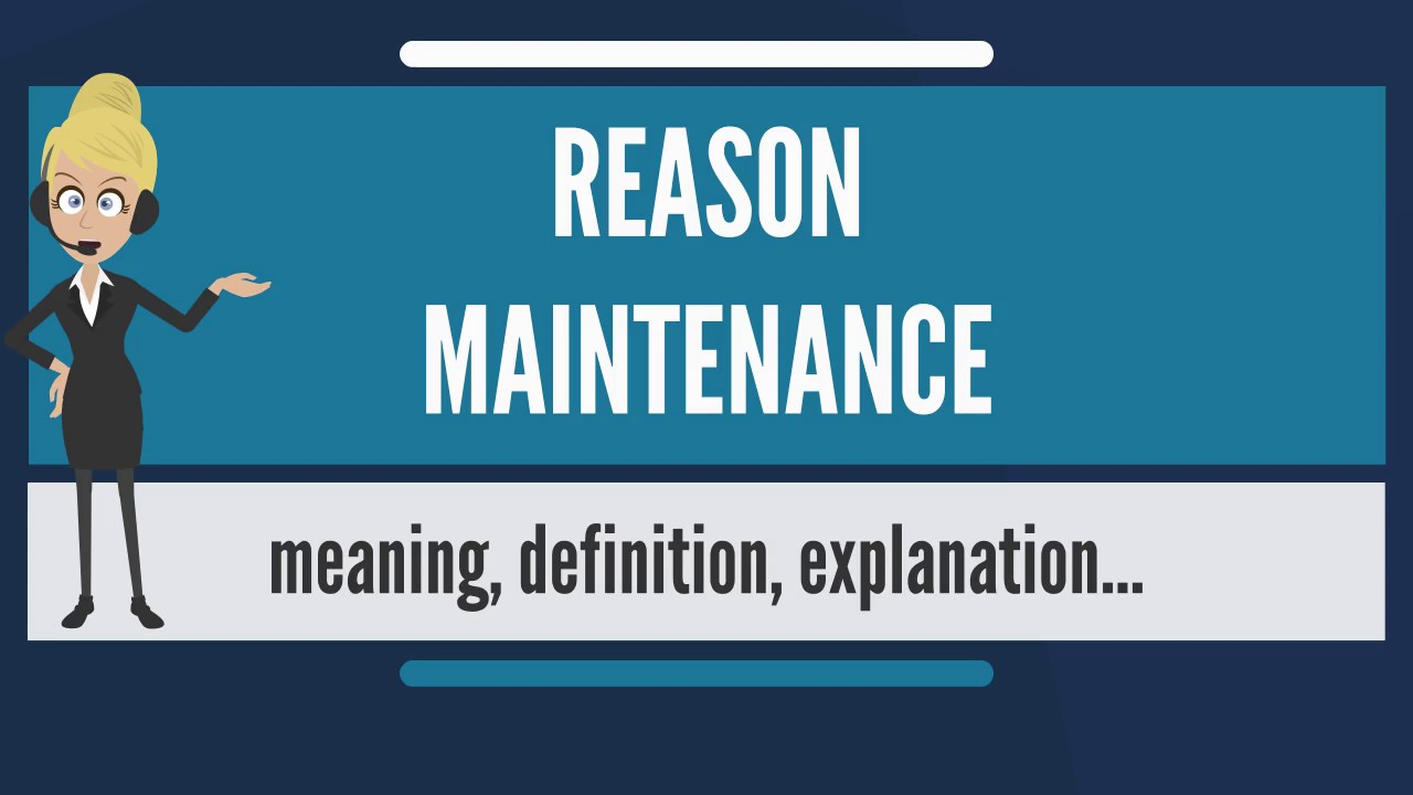 maintenance what does it mean