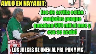 AMLO EN NAYARIT ¡HABLA DE ESOS QUE NO QUIEREN BAJARSE EL SUELDO! Mp3