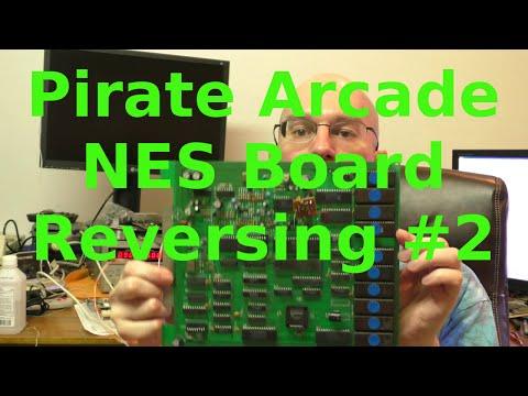 Reverse Engineering Unlicensed NES Arcade Board #2