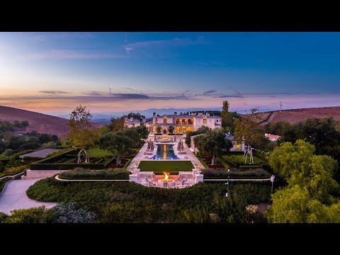 Incredible 85m Celebrity Estate: Westlake Village, Californi
