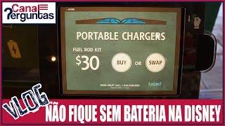 Vlog: Não fique sem bateria na Disney - fuel rod ✔