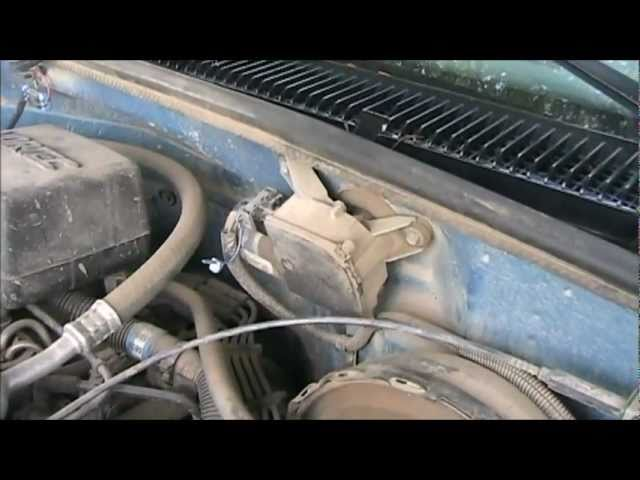 Wiper And Washer How To Fix On Chevy Gmc Full Size Trucks 1988 To 1998 Diy Youtube