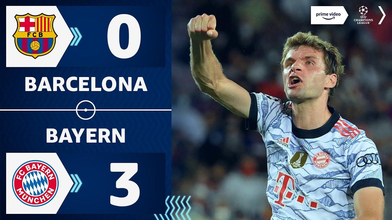 Download Müller-Rekord bei Auftaktsieg | Barcelona 0:3 Bayern | Highlights - Champions League | Prime Video