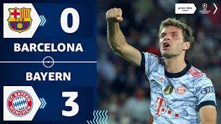 Müller-Rekord bei Auftaktsieg   Barcelona 0:3 Bayern   Highlights - Champions League   Prime Video