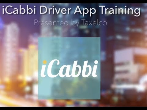 iCabbi Driver App training video (Taxelco)