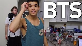 SLAPPING YOUR BEST FRIEND IN THE FACE | Behind The Scenes