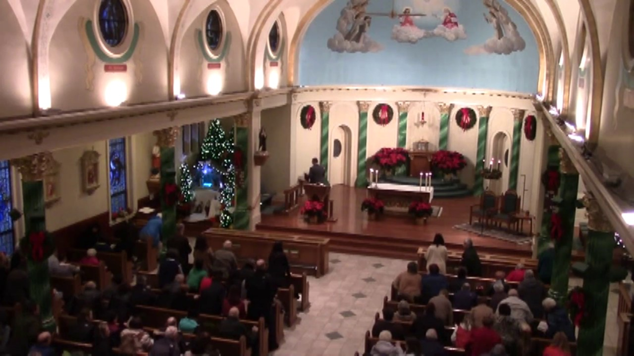 St. Patrick's Christmas Eve Mass  12-24-16