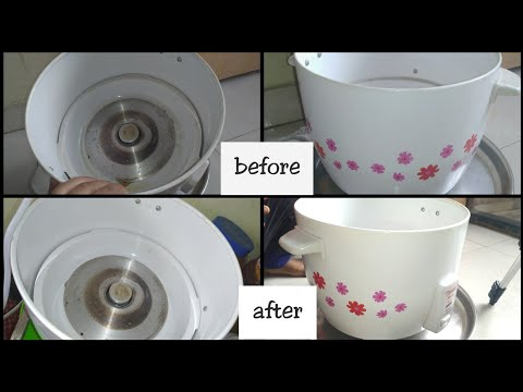 How To Clean Electric Rice Cooker In Telugu|Safe Way To Clean Eletronic cookware|Mana Inty Tip's