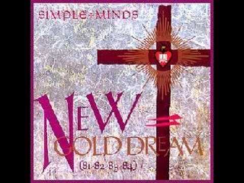 """Simple Minds - New Gold Dream (Maxi)  12"""""""