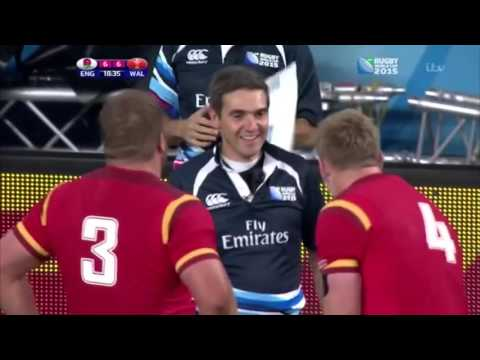 Wales V England 2015 highlights (dubbed)
