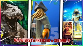 SEASON 5-NEW LOCATIONS, NEW SKINS, MAP CHANGES (LEAKS)-Fortnite Battle Royale
